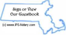 Sign or view our guestbook