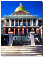 State House in Boston, MA