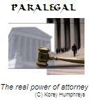 Paralegal: The Real Power of Attorney
